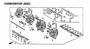 1992 Honda Nighthawk 750 Oem Parts
