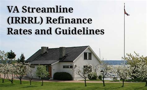 va streamline irrrl refinance loan easier refinancing