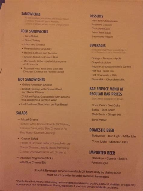 deck bahamas dinner menu 149 best images about triumph 2017 on the