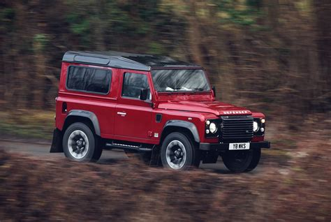 2018 land rover defender works v8 special edition