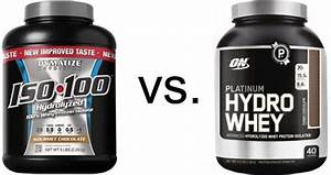 Dymatize Iso-100 Vs  Optimum Nutrition Platinum Hydrowhey