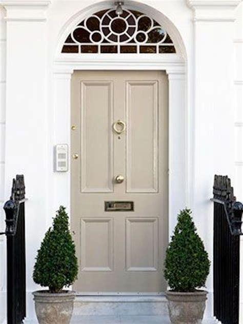 feng shui of front doors in beige and colors
