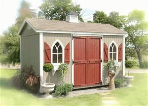 The workshop wood garden storage shed kit 8 x 16 for Best deals on garden sheds