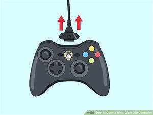 How To Open A Wired Xbox 360 Controller  10 Steps  With