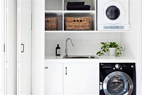 Monochrome House With Secrete Utility Room by 8 Cheap Ways To Give Your Laundry Room New