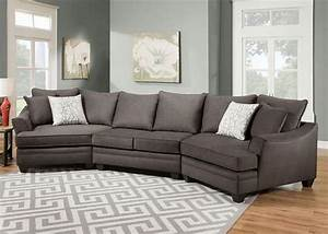 contemporary style toss pillows and gray on pinterest With gray sectional sofa with cuddler