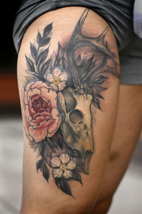 ideas  thigh piece tattoos  pinterest