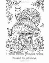 Coloring Adult Printable Fall Funny sketch template