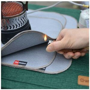 Fireproof Mats - fireproof resistant mat protect tent table