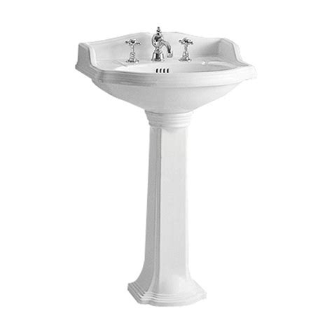 small pedestal sinks whitehaus collection china series small traditional