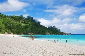 Holiday on golden beach in Seychelles. © Seychelles Connect Seychelles