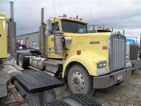 kenworth truck cab 1998 kenworth w900b day cab truck for sale 850 000 miles