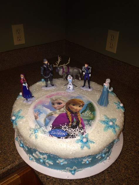 disney frozen cake birthdays pinterest disney