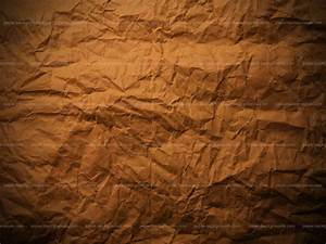 Paper Backgrounds | Wrinkled Brown Paper Texture Background