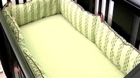 crib bumper pad inserts of crib bumper pads banned in maryland nbc4 washington