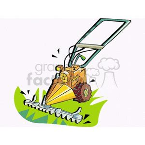 push style lawn mower clipart royalty  clipart