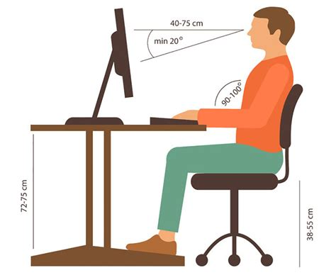 what is the average height of a desk office chair considerations for tall and short people