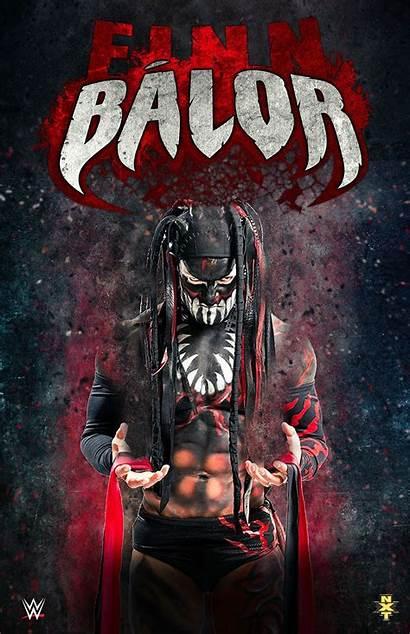 Balor Finn Demon Wwe Wrestling Poster Wrestler