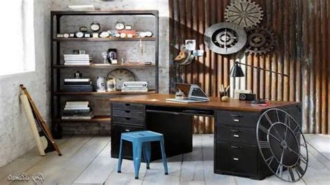 industrial style home office desk home office industrial design desk metal of with decor