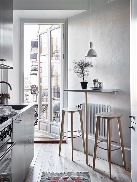 Ideas For Small Kitchen Table by Tiny Bar Table For A Small Kitchen Interiors Scandi