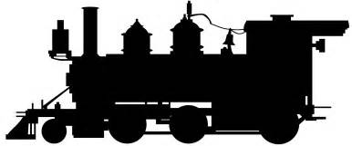 steam train silhouette free vector silhouettes