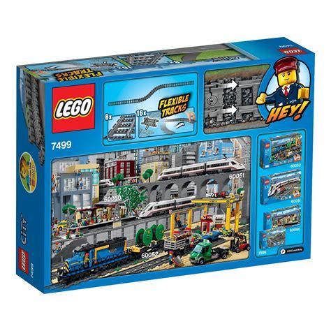 LEGO City  Rails flexibles  7499  Jeu de Construction