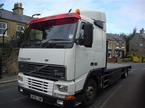 "1996 Volvo Fh12 Lh 4x2a S 26' 6"" Flat With Sleeper Cab In"