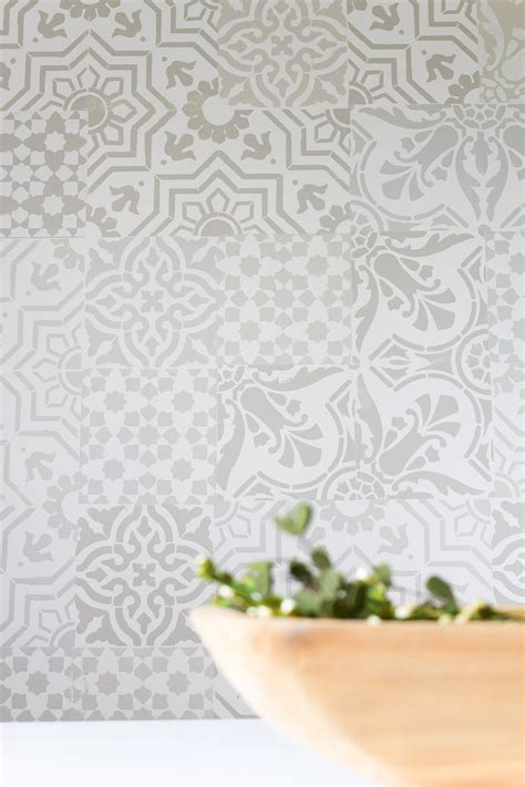 monthly diy challenge     cement tile