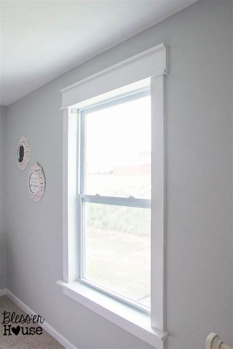 Window Casings And Sills by Diy Window Trim The Easy Way