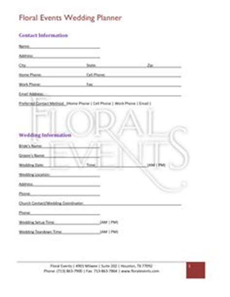 Wedding Florist Contract Template by Floral Shop Bridal Agreement Contract Template Editable