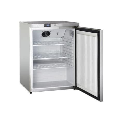 petit frigo de chambre petit frigo réfrigérateur en inox à poser capacité de 145 l