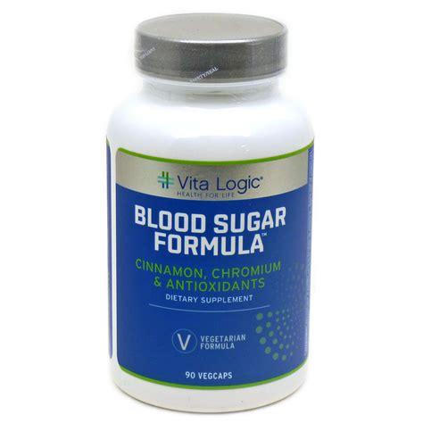 blood sugar formula  vitalogic  capsules