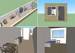 Modle De Studio De 36 M Pour Rsidence Modulaire
