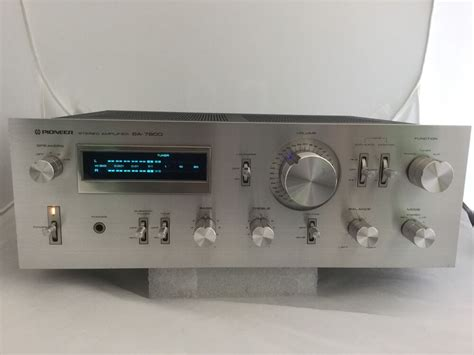 Pioneer Sa-7800 Stereo Amplifier Vintage 1979 130 Watts
