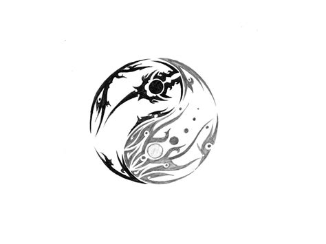 Tatouage Cheville Ying Yang Tattooart Hd