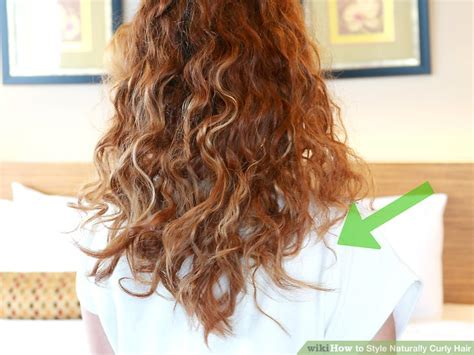 style naturally curly hair  pictures wikihow
