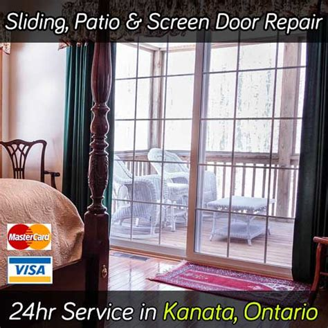 sliding patio screen door repair kanata on rollers