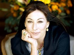 Welcome to District 12: Campaigning for Coin: Anjelica Huston