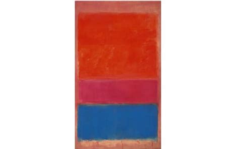 Mark Rothko Abstract Painting Sold For £47.3million