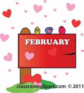 February 2020 Calendar Clip Art Valentines Day Clipart February Valentines Day