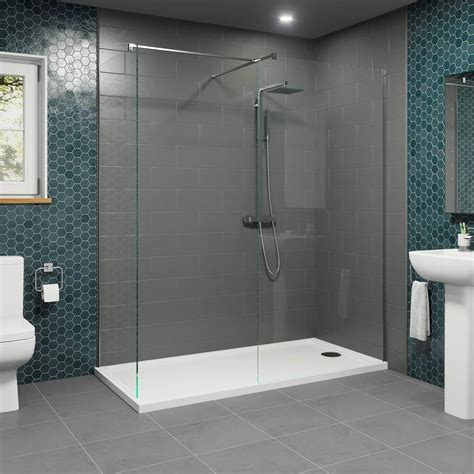 Step In Shower Enclosures by 1700x700mm Walk In Shower Enclosure 1000 And 700mm