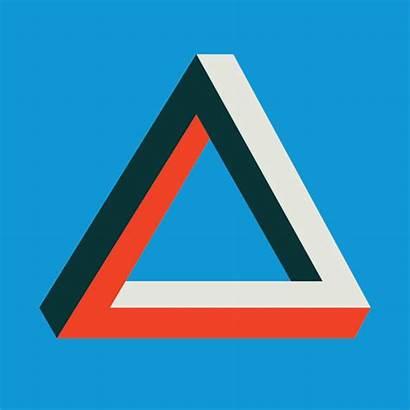 Swiss Escher Triangles Triangle Colour Geometric Modernist