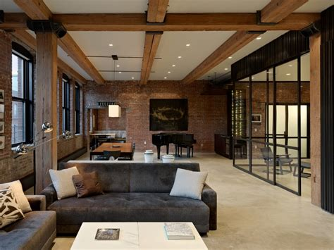 Creative Family New York Loft by Highline Chelsea Loft By Robertson Tait New York
