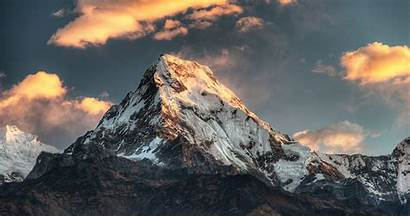 Mountain Nepal Parede Papel Natureza Nature Pc