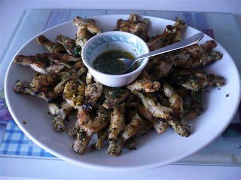 cuisiner les cuisses de grenouilles recette de cuisses de grenouille à la persillade