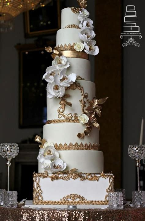 655 Best Images About Wedding Cakes Ivorygold On