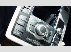 How to Remove MMI Controller from Audi Q7 2009 for Repair
