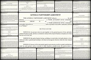 Consultant Contract Template Free General Partnership Agreement Sample Word Pdf Templates
