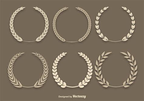 wheat laurel vectors   vectors clipart