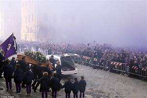 Funeral begins of tragic Italian footballer Davide Astori ...